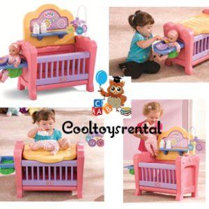 Little Tikes 4 In 1 Baby Born Nursery