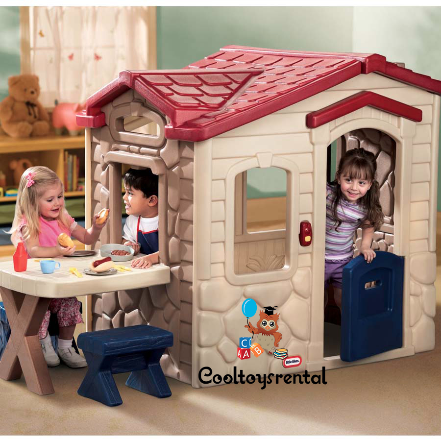 Captivating Little Tikes Picnic On The Patio Playhouse
