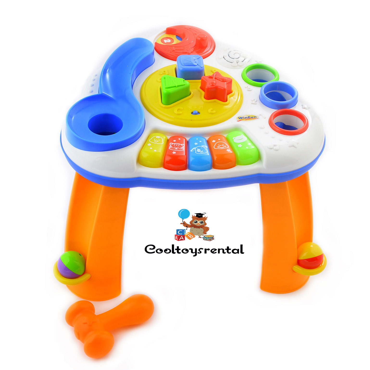 Winfun Ball N Shapes Musical Table