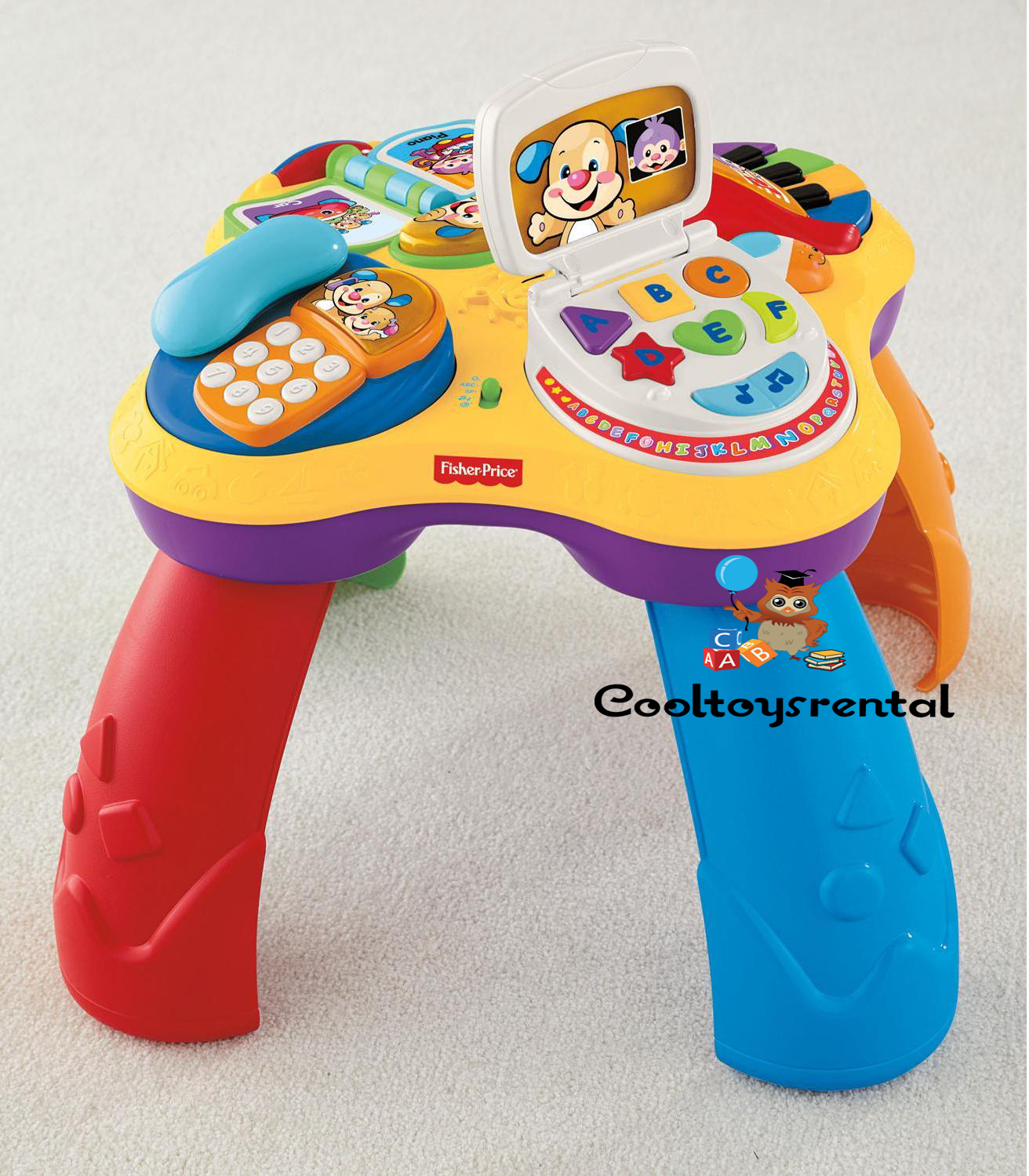 Fisher Price Laugh & Learn Puppy and Friends Learning Table « cooltoysrental.com