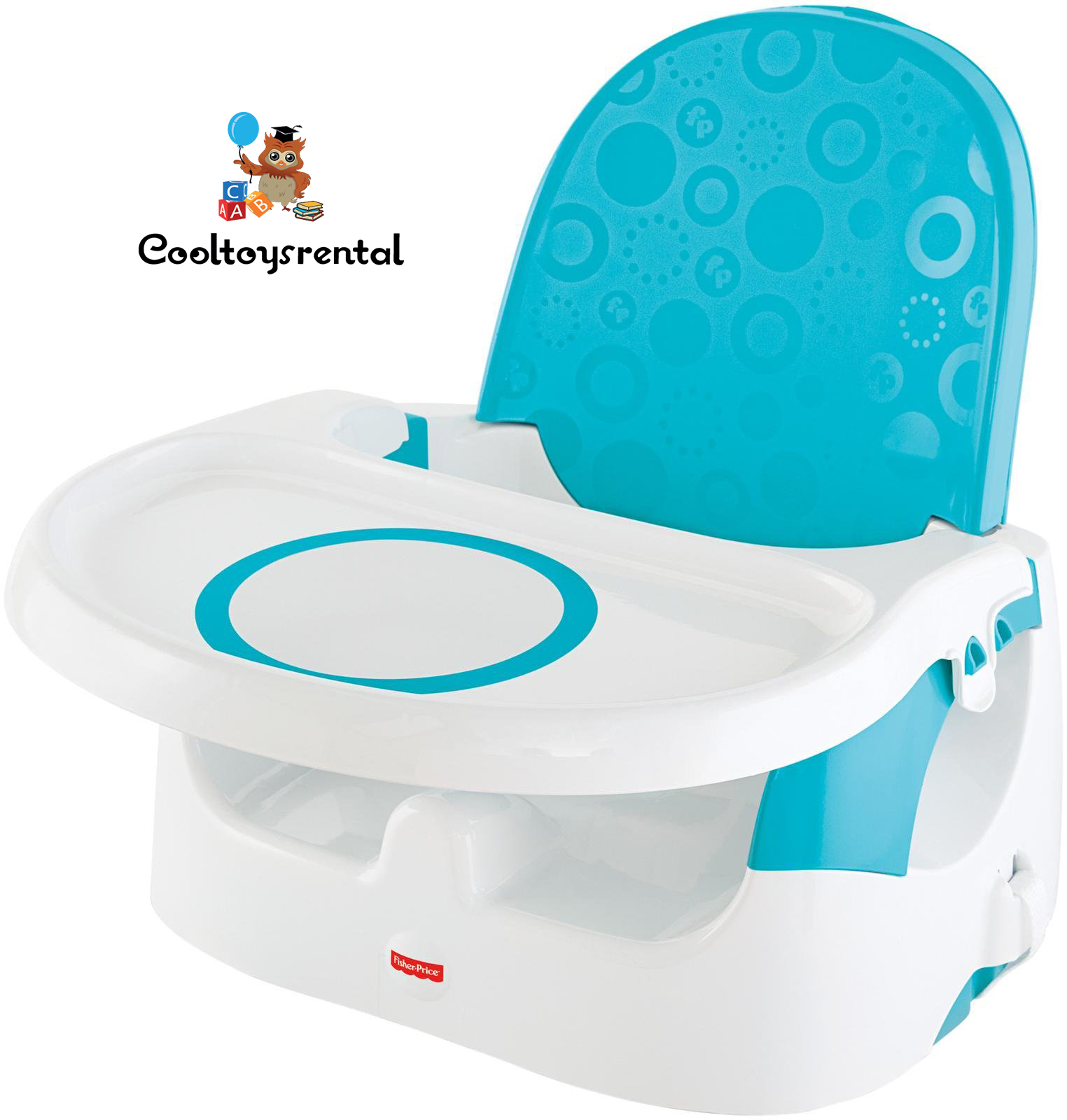 Fisher Price Quick Clean \'n Go Booster Deluxe – Blue ...